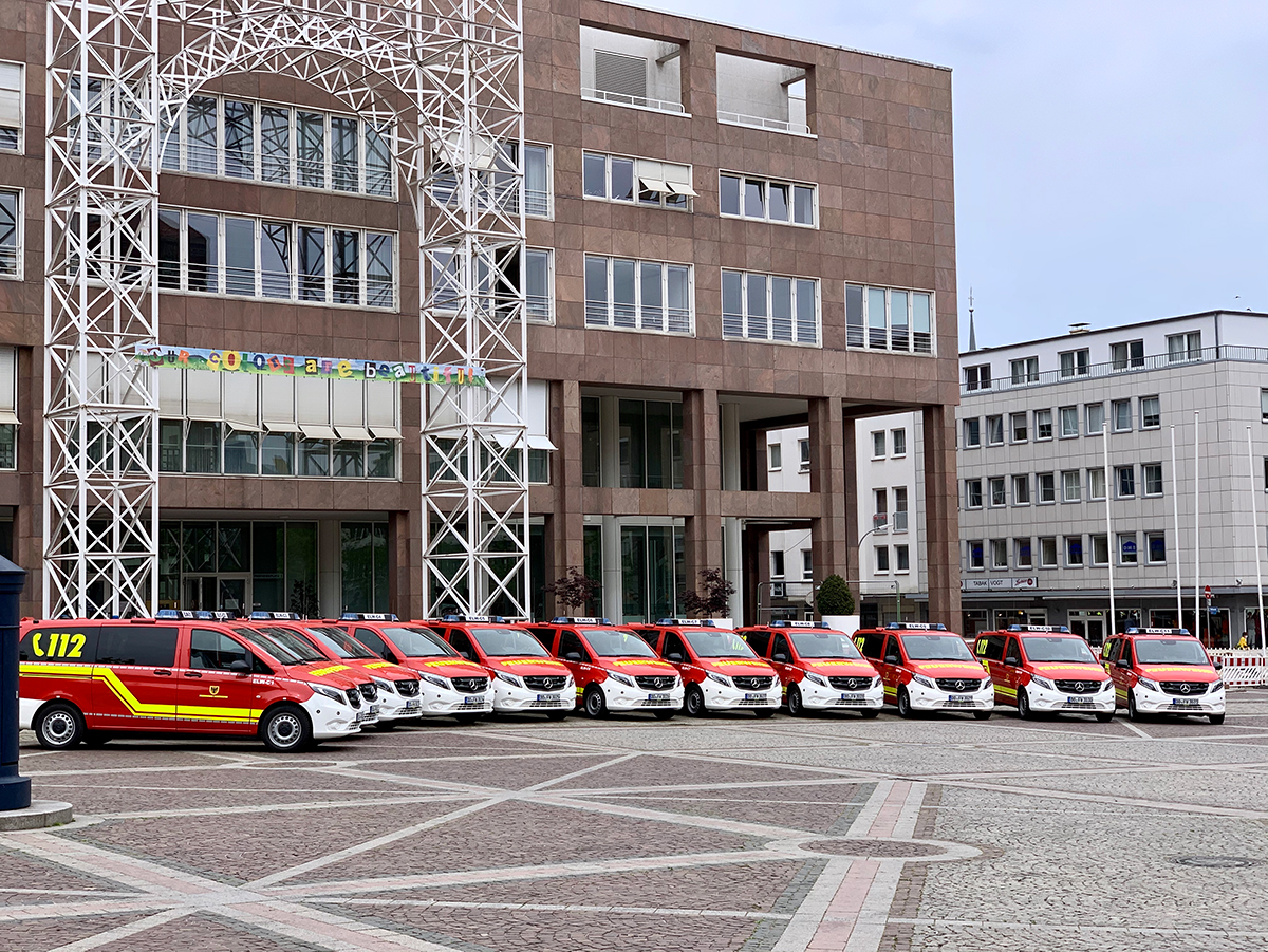11 ELW´s für die Dortmunder Feuerwehr
