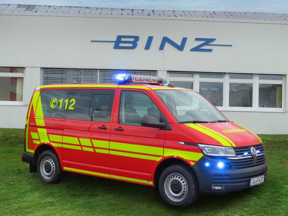 BINZ MTW für die FW Ilmenau