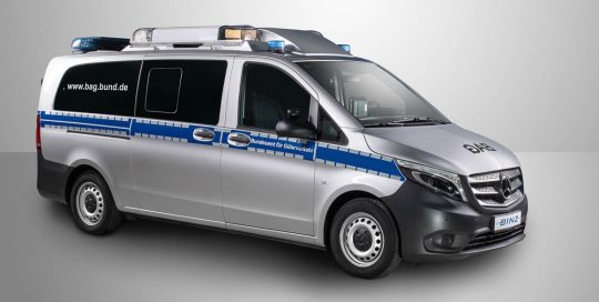 BINZ Mautkontrolldienstfahrzeug